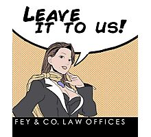 Fey & Co. Law Offices. Photographic Print