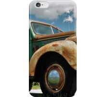 OLD WRECKER iPhone Case/Skin