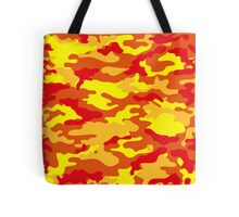 Camouflage (Fire) Tote Bag
