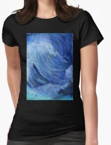 Coastal Vibes Womens Fitted T-Shirt