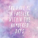 A forever within the numbered days by The Eighty-Sixth Floor