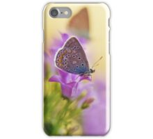 Morning impression with two butterflies iPhone Case/Skin