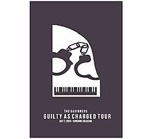 Guilty as Charged - Klavier Photographic Print