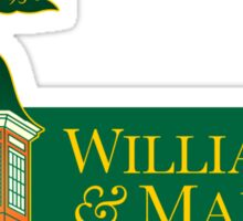 William & Mary Sticker