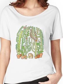 hedgehog cacti Women's Relaxed Fit T-Shirt