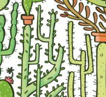 hedgehog cacti Sticker