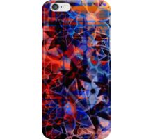 Abstract Art Retro Floral Pattern iPhone Case/Skin