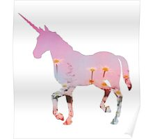 Unicorn Abstract  Poster