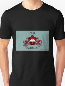 """Mozart and Marie """"Free Carriage Parking"""" Mozopoly T-Shirt"""