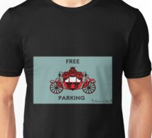 "Mozart and Marie ""Free Carriage Parking"" Mozopoly Unisex T-Shirt"