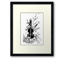 Rockin with Classic Framed Print