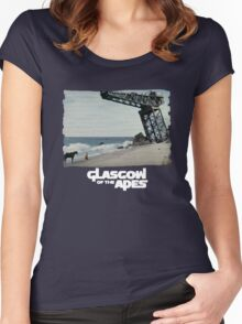 Glasgow of the Apes Women's Fitted Scoop T-Shirt
