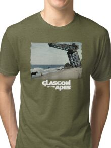 Glasgow of the Apes Tri-blend T-Shirt