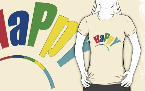 HaPpY by TeaseTees