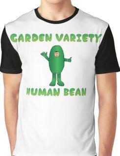 Garden Variety Human Bean Graphic T-Shirt