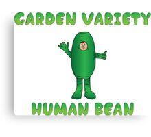 Garden Variety Human Bean Canvas Print