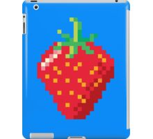 Pixel Strawberry iPad Case/Skin