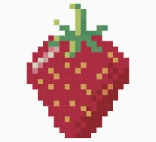 Pixel Strawberry by The Eighty-Sixth Floor