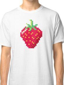 Pixel Strawberry Classic T-Shirt