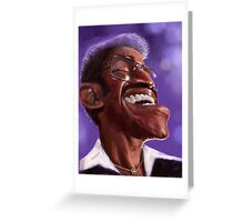 Sammy Davis Jr Greeting Card