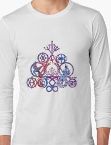 All of your book fandoms v3 Long Sleeve T-Shirt