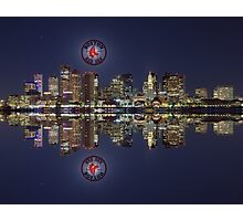 Red Sox and Boston Photographic Print
