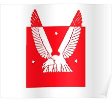 Eagle USA Red Poster