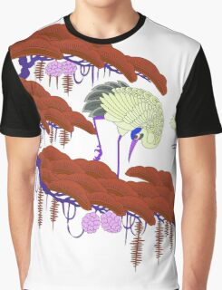Cranes Graphic T-Shirt