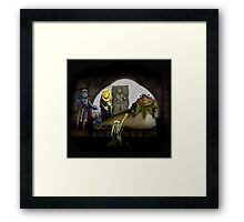 Kermit the Hutt Framed Print
