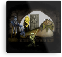 Kermit the Hutt Metal Print