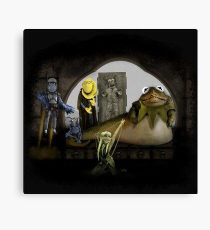 Kermit the Hutt Canvas Print