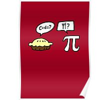 Pie and Pi Poster