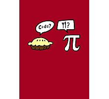 Pie and Pi Photographic Print