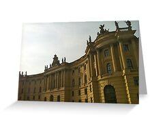 The University Building, Berlin Greeting Card