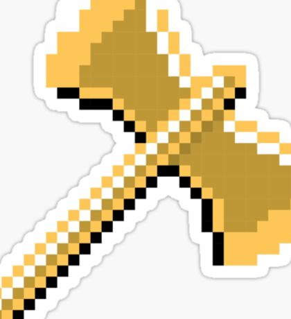 8 Bit Golden Axe Sticker