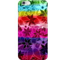 Abstract Art Retro Trendy Floral Pattern iPhone Case/Skin