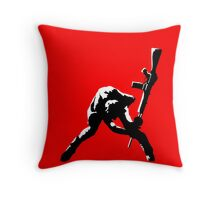 The Clash Throw Pillow
