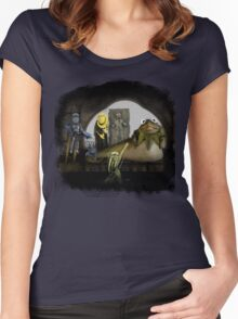 Kermit the Hutt Women's Fitted Scoop T-Shirt