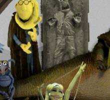 Kermit the Hutt Sticker