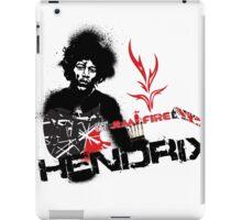Jimmy Hendrix  Fire iPad Case/Skin
