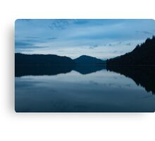 Evening on the Water Canvas Print