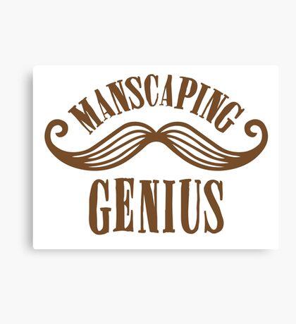manscaping genius Canvas Print