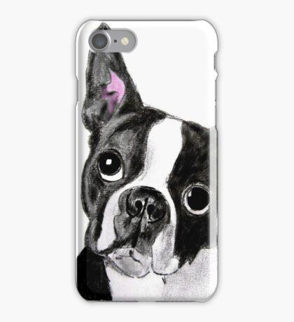 Boston Terrier Dog iPhone Case/Skin