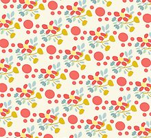 Happy Flowers Fun Pattern by Betsy Bush