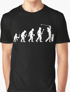 Funny Evolution Of Golf Graphic T-Shirt