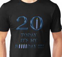20th birthday  2 Unisex T-Shirt