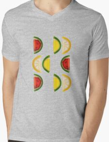 Fruit and More Fruit  Mens V-Neck T-Shirt