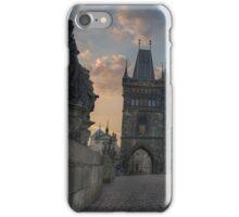 Charles Bridge in Prague iPhone Case/Skin