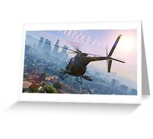 Grand Theft Auto V Wallpaper Greeting Card