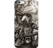 LeChuck's Revenge Engraving iPhone Case/Skin
